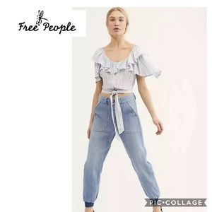 NWT Free People sz 29 Skye Relaxed Boyfriend jeans